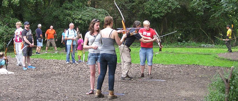 Bogenschießen Schnupperkurs im Rombergpark Dortmund
