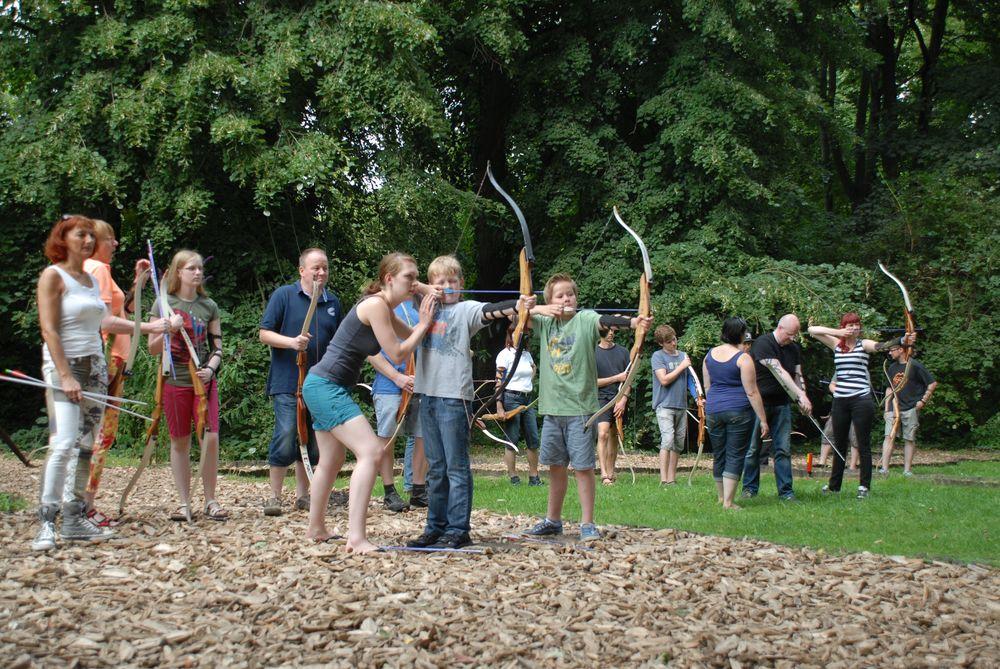 Bogenschießen Schnupperkurs, Kindertraining