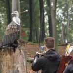 Bogenschießen Herbstturnier 3D-Ziel Geier