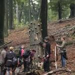 Bogenschießen Herbstturnier 3D-Ziel Bär