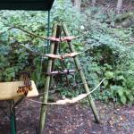 Bogenschießen Herbstturnier Bogenständer