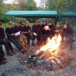 Bogenschießen Herbstturnier Lagerfeuer
