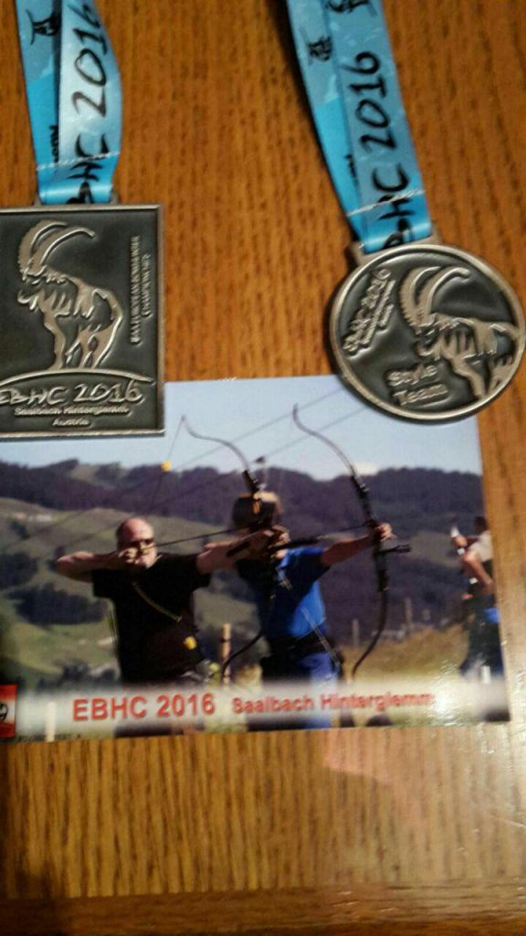 EBHC 2016 Medaille