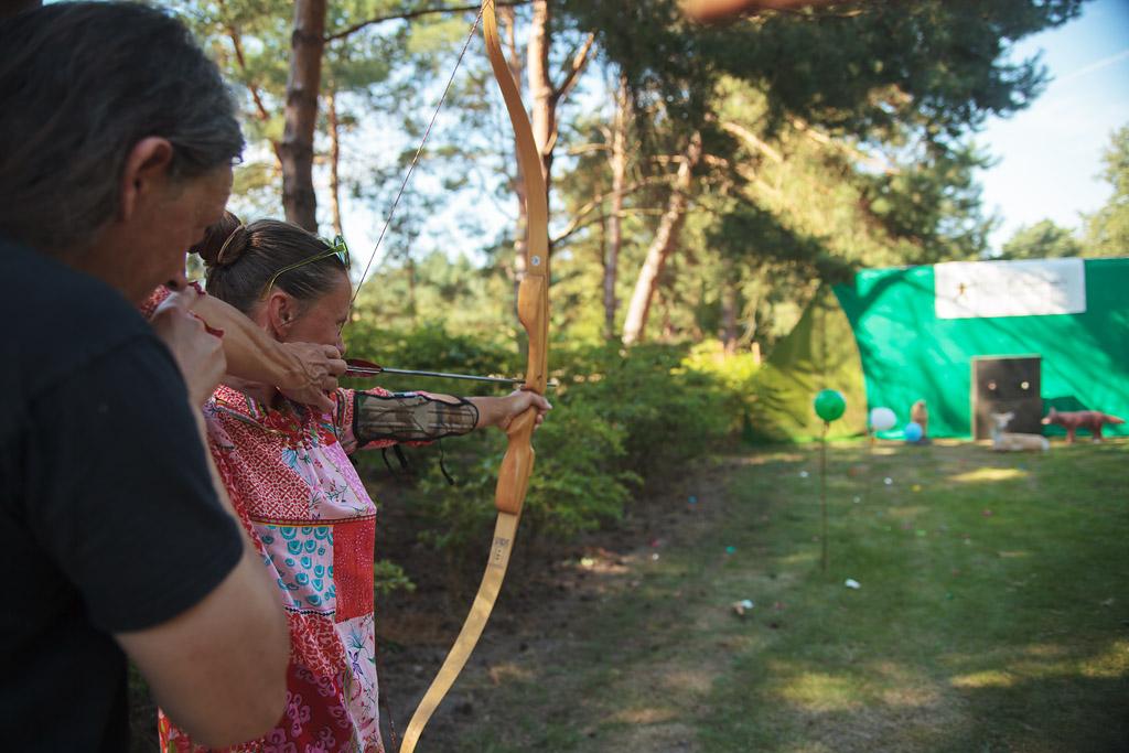 Pfeil und BogenWelt Dortmund, Heidemarkt, traditionelles Bogenschießen lernen